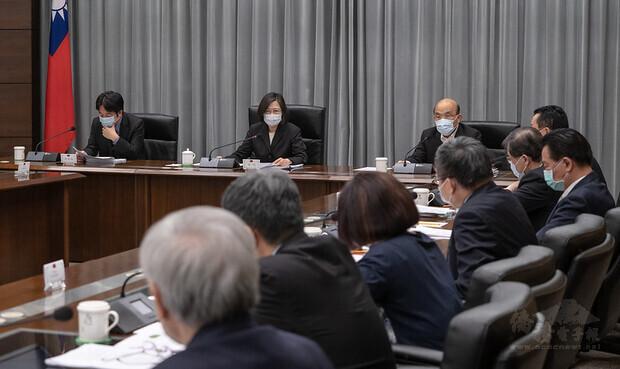 總統召開國安高層會議