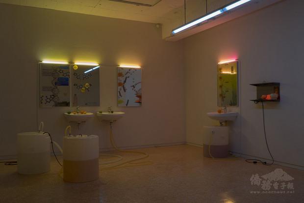 第11屆利物浦雙年展實體展覽將於19日開放參觀。台灣藝術家羅智信今年應邀參展。圖為他2019年作品「不存在的蝸牛」。