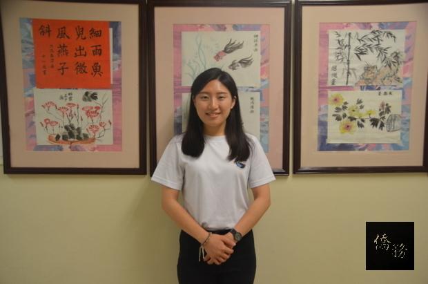 連靖怡對比成人和兒童教學,覺得兒童華語更有成就感。