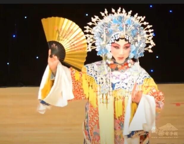 京劇表演貴妃醉酒