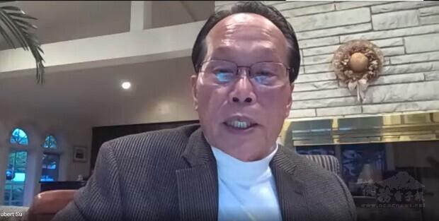 身兼北美洲臺灣商會聯合總會健康福利委員會主委身分的蘇鴻昌,出任波士頓臺灣世衛協進會首屆會長。
