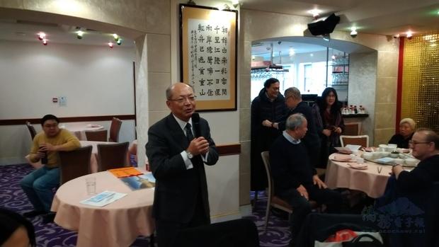 程祥雲感謝大地社舉辦醫療保健演講活動,照顧僑胞健康。