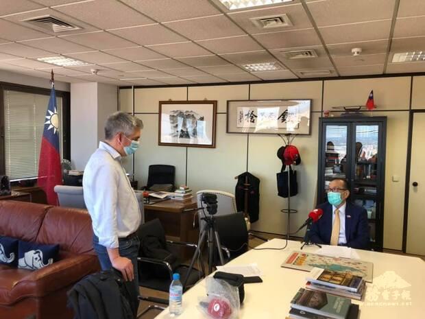 駐西班牙代表處劉德立大使接受「數位記者報」專訪