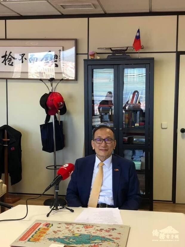 呼籲國際社會支持臺灣參與世衛