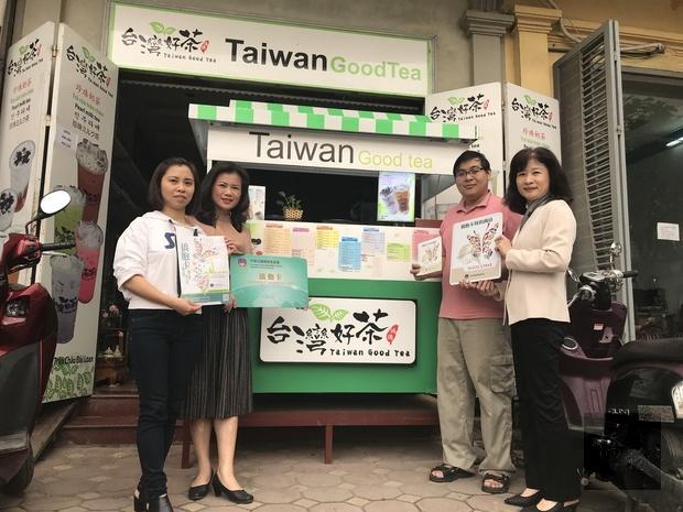 越南河內茶飲及餐廳加入僑胞卡海外特約商店行列