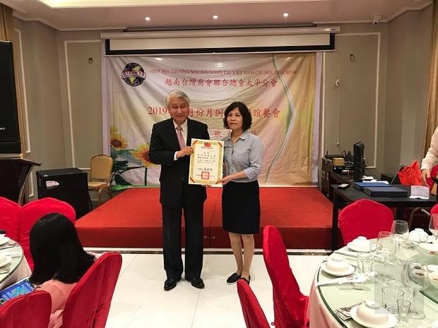 僑委會越南臺灣商會聯合總會太平分會 陳文進接任會長