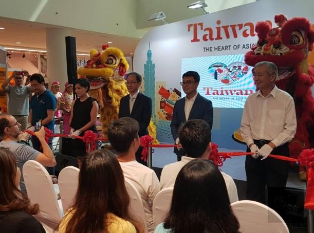 2019臺灣旅遊產品展銷會開幕剪綵。