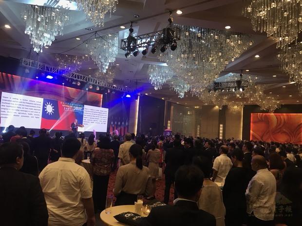 約800名嘉賓共襄盛舉,歡慶中華民國國慶。