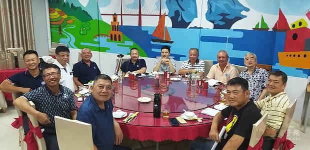 越南臺灣商會聯合總會海防分會22日舉辦「第11屆第6次理監事會議」。