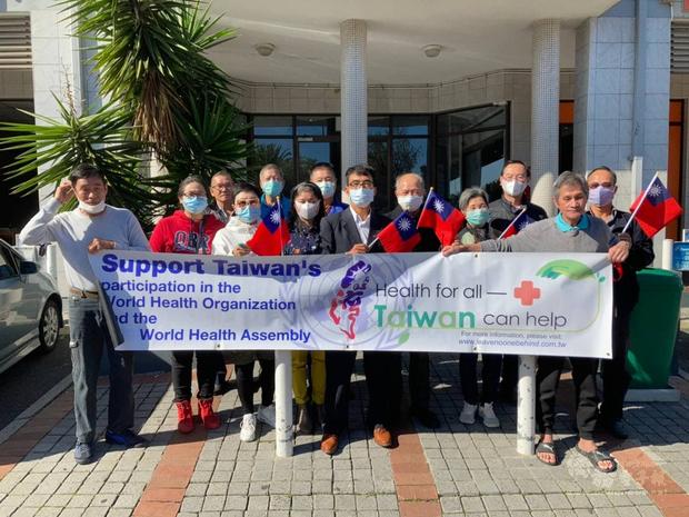 開普敦僑務榮譽職人員座談 支持台灣參與WHA