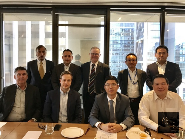 西澳臺灣商會於9月5日與越南、日本、韓國、印尼、印度、香港、新加坡等七個西澳地區亞洲國家商會代表討論共同舉辦商務交流活動。(雪梨僑教中心提供)
