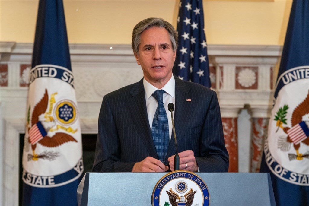 圖說 : U.S. Secretary of State Antony Blinken. Photo courtesy of the U.S. Department of State