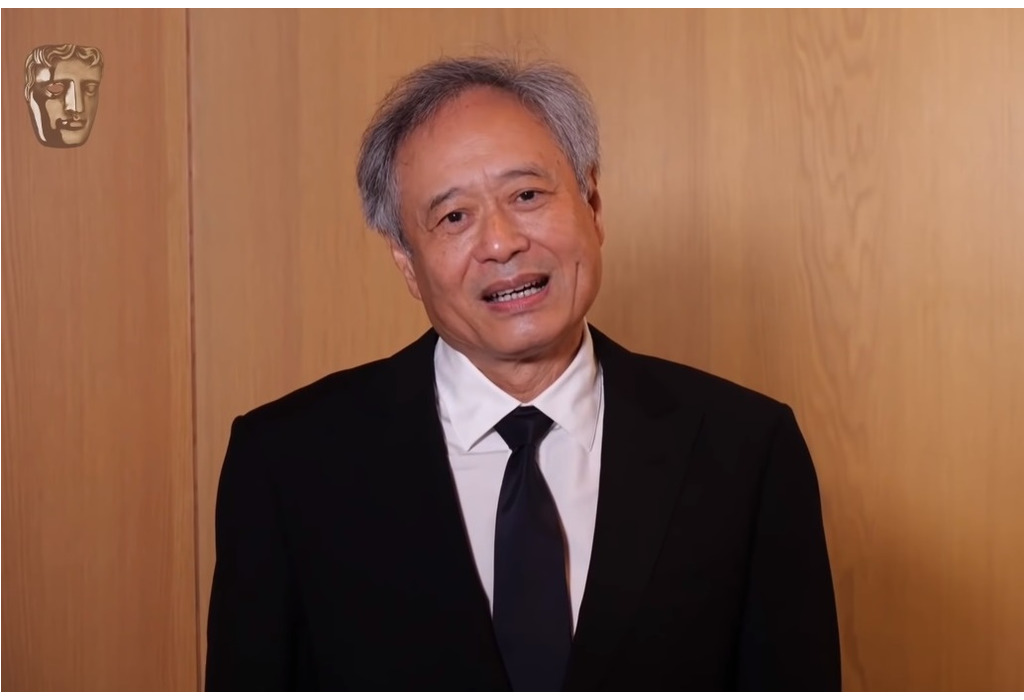 圖說 : Ang Lee receives 2021 BAFTA Fellowship (Source: YouTube)