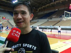 Mighty Sports-Go For Gold Philippines head coach Charles Tiu/Photo courtesy of CNA