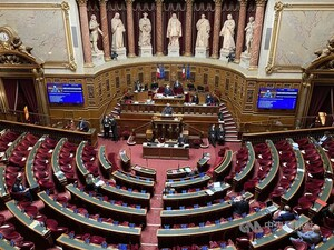 The French Senate. CNA photo May 6, 2021