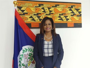 Belize Ambassador to Taiwan Candice Pitts.