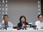 National Development Council (NDC) Minister Chen Mei-ling (center)/Photo courtesy of CNA