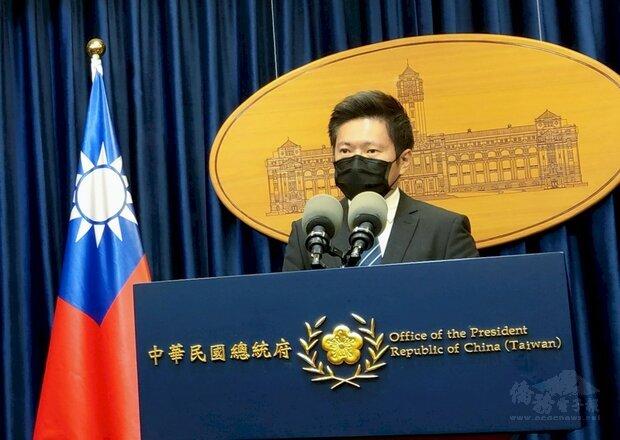 總統府發言人張惇涵。