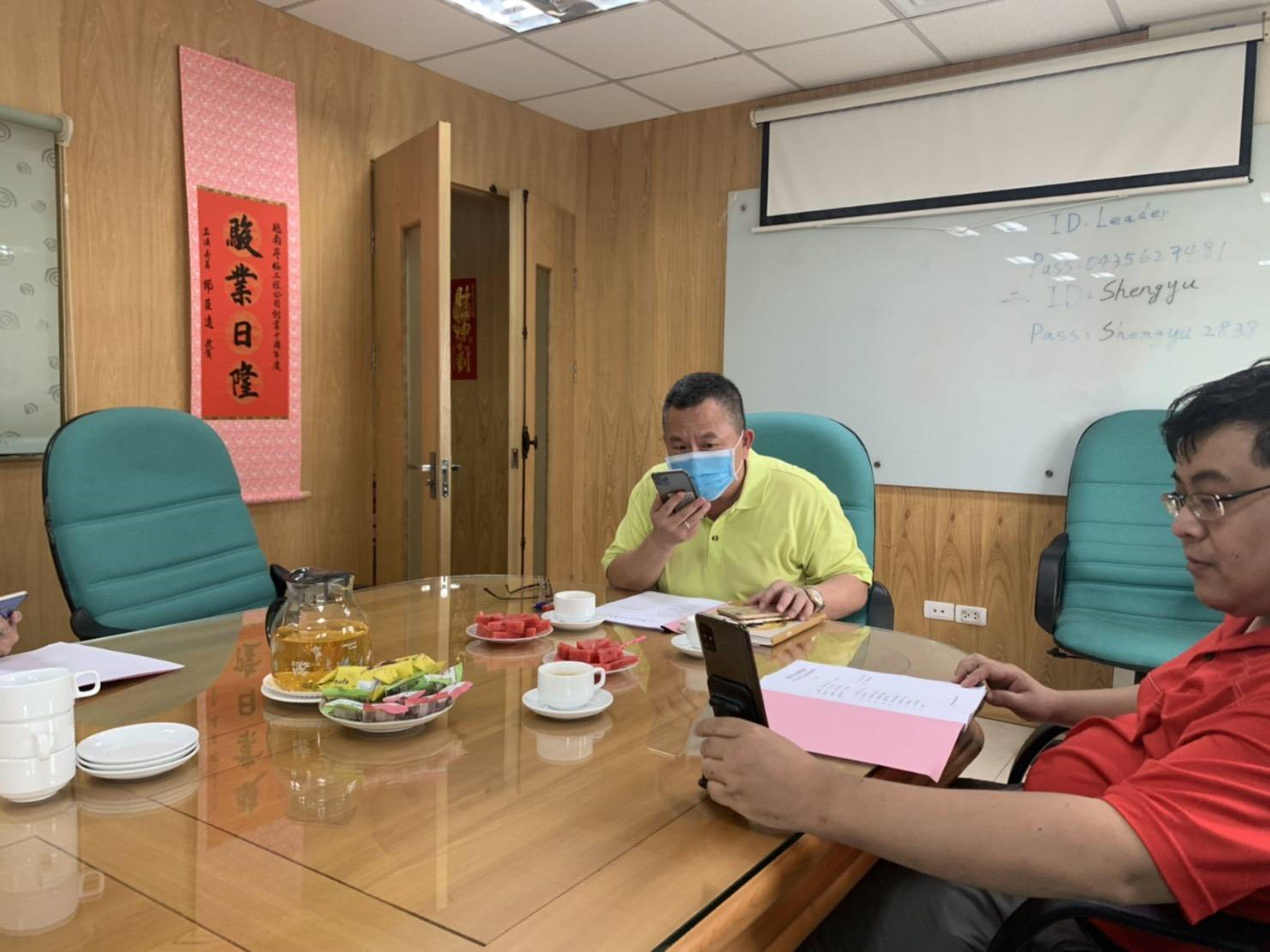 因應越南防疫政策  河內商會辦理線上會務座談