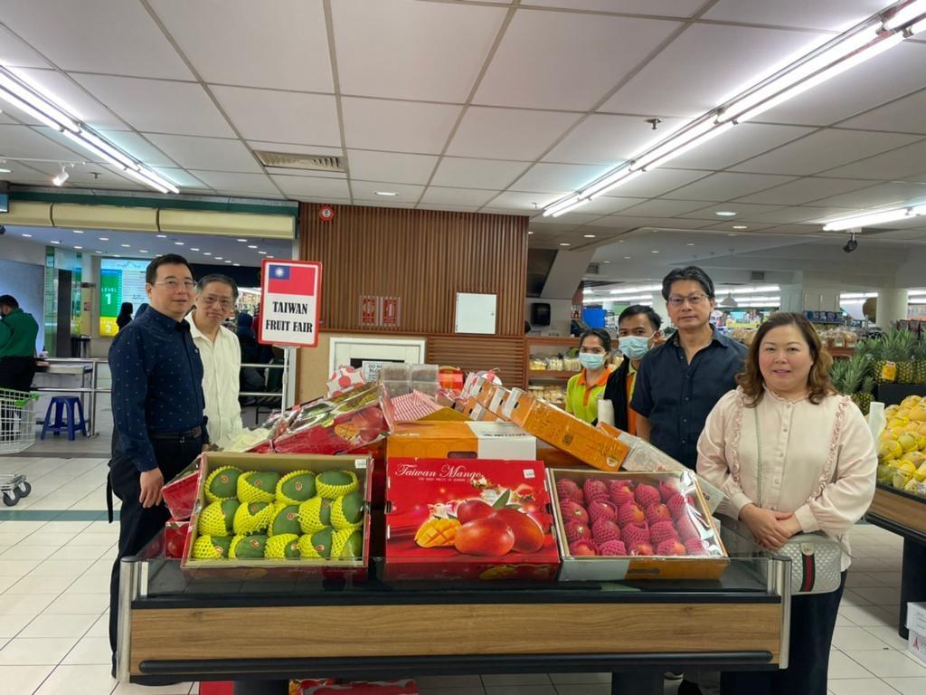 駐汶萊大使李憲章 出席臺灣優質水果試吃品嚐促銷會